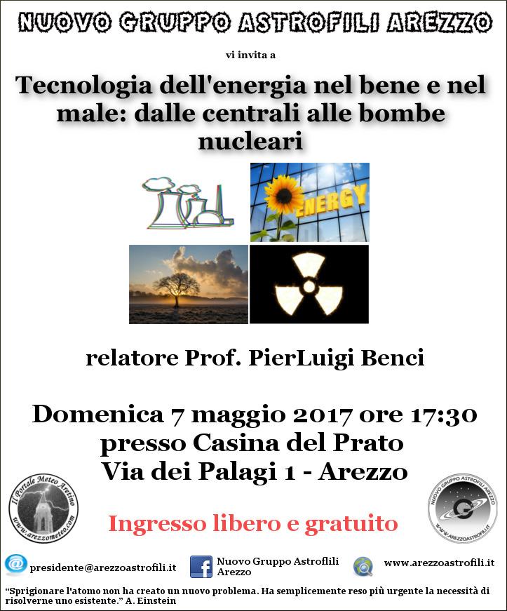 Volantino 7 maggio 2017 nucleare