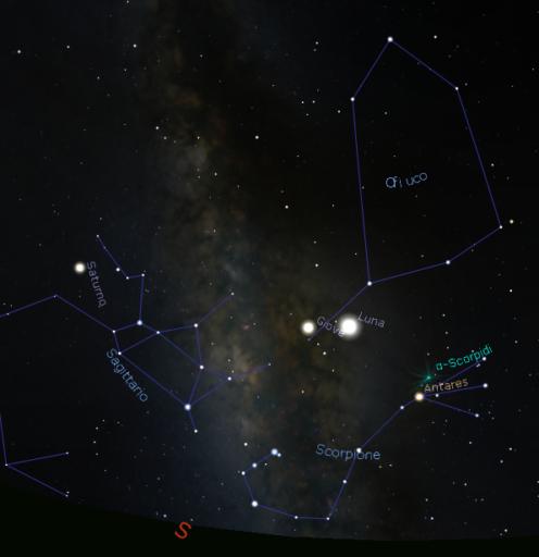 Cielo-Aprile-2019-Luna-Giove